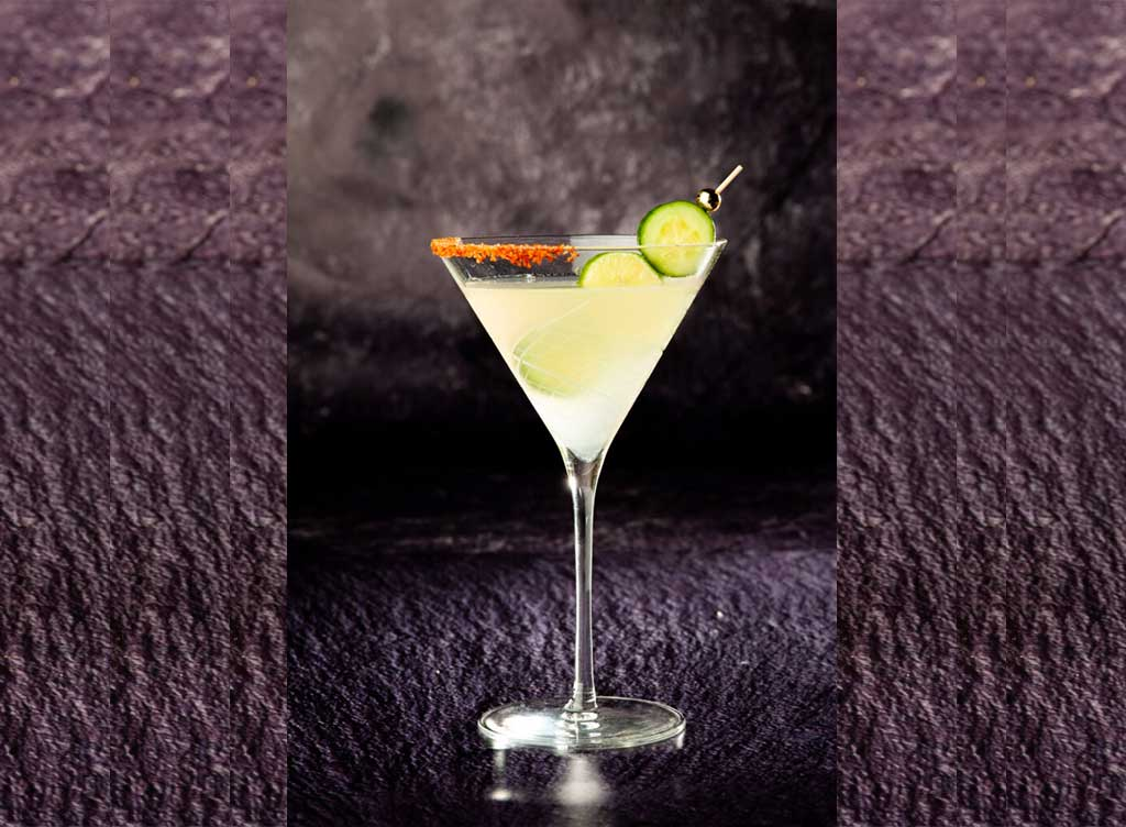 Gauchos Do Sul Cucumber Lime Martini